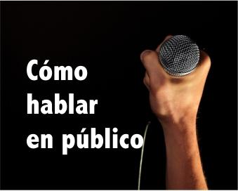 Hablar en público de manera convincente